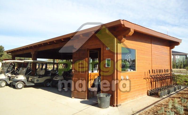 Campo de golf de la moraleja madrid casetas p rgolas - Casetas de madera madrid ...