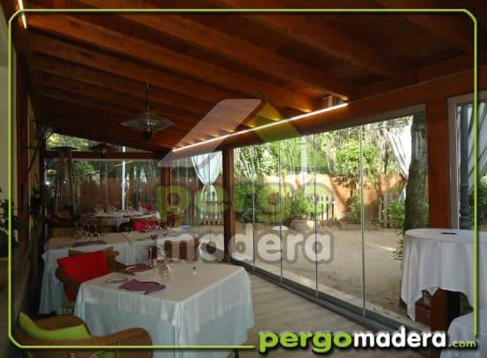Restaurante el horizontal blog pergomadera - Terrazas de madera precios ...