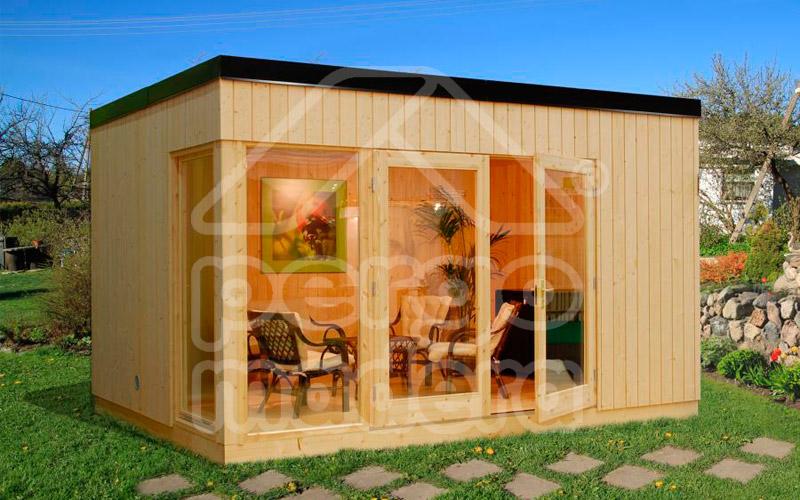 Cenadores de madera precios larmader construir porches de for Casetas de madera baratas para jardin brico depot