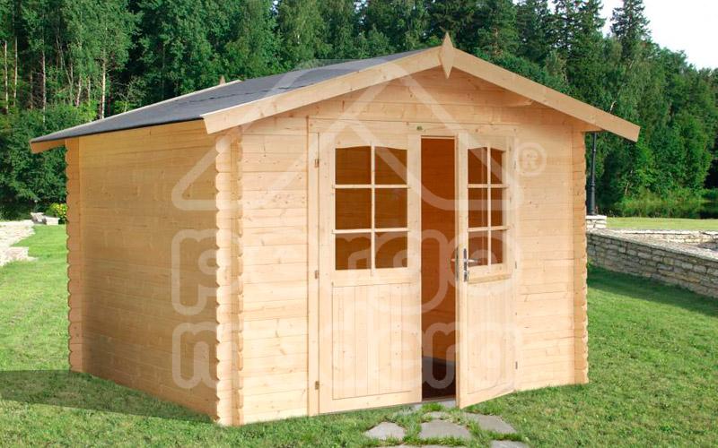 Casetas palmako en madera for Casetas de madera