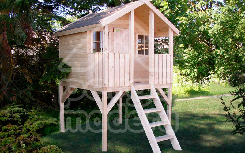 Casitas infantiles de madera - Casa madera infantil ...