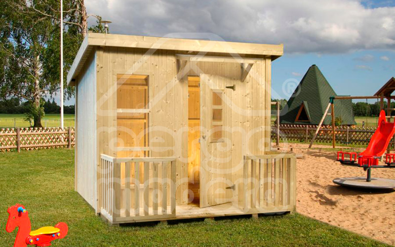casitas infantiles de madera en madrid pergomadera