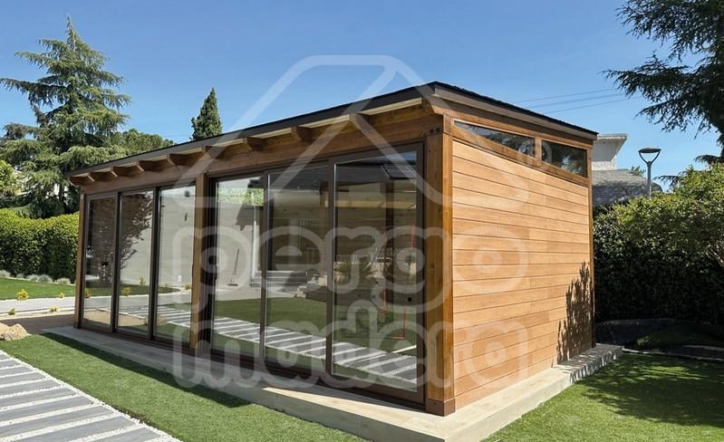 Casetas de jard n a medida casetas pergomadera madrid for Casetas madera jardin