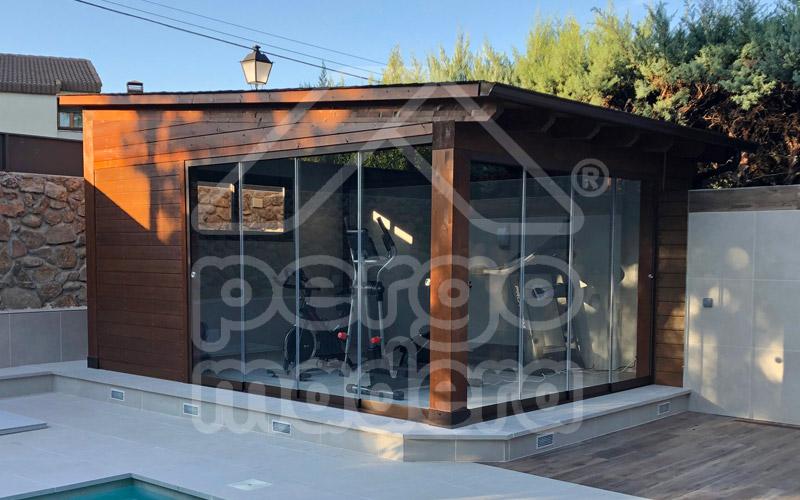 Casetas de jard n a medida casetas pergomadera madrid - Caseta de madera para jardin ...