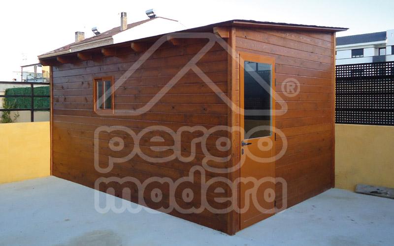 Casetas de jard n a medida casetas pergomadera madrid for Casetas madera jardin baratas