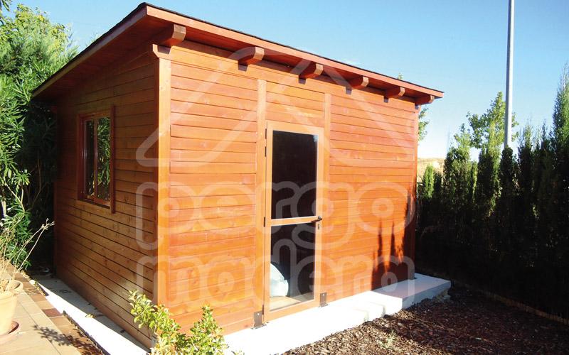 Casetas de jard n en madrid a medida casetas pergomadera - Casetas de madera pequenas ...
