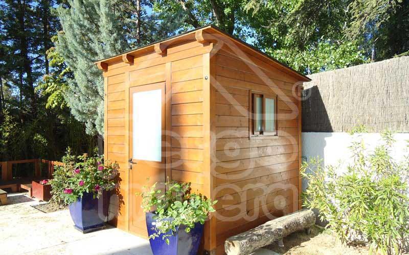 Casetas de madera a medida caseta de madera pergomadera for Caseta de jardin de madera