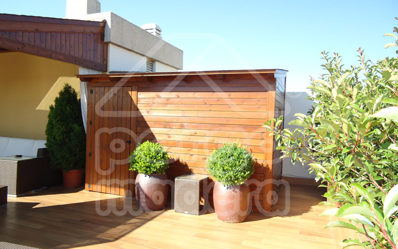 Casetas de madera a medida en madrid y toda espa a for Caseta madera exterior