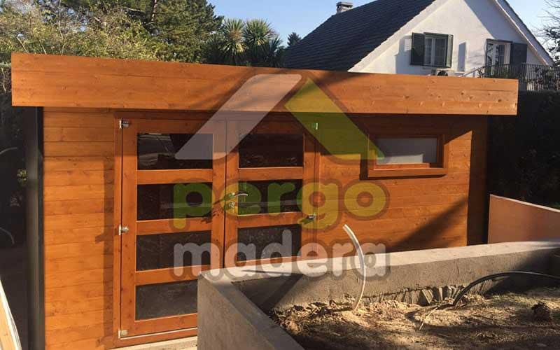 Casetas de madera a medida en madrid y toda espa a - Casetas de madera madrid ...