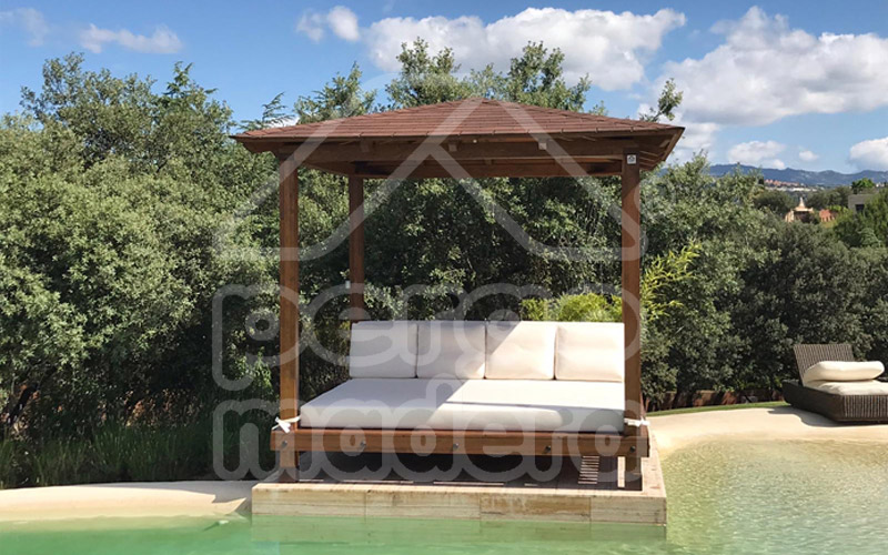 Chillout chill out de jard n en madera for Jardin chill out