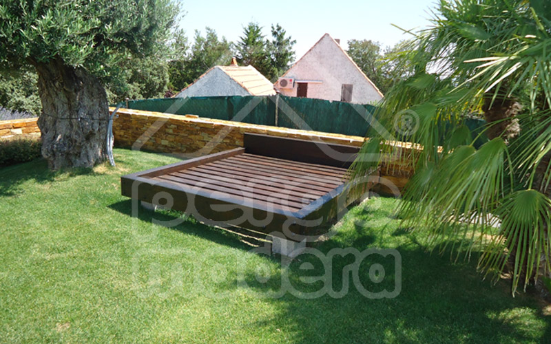 Chillout chill out de jard n en madera for Chill out jardin