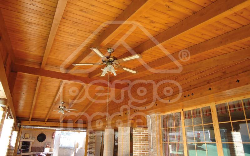Cubiertas de madera techos de madera - Cubiertas de madera ...