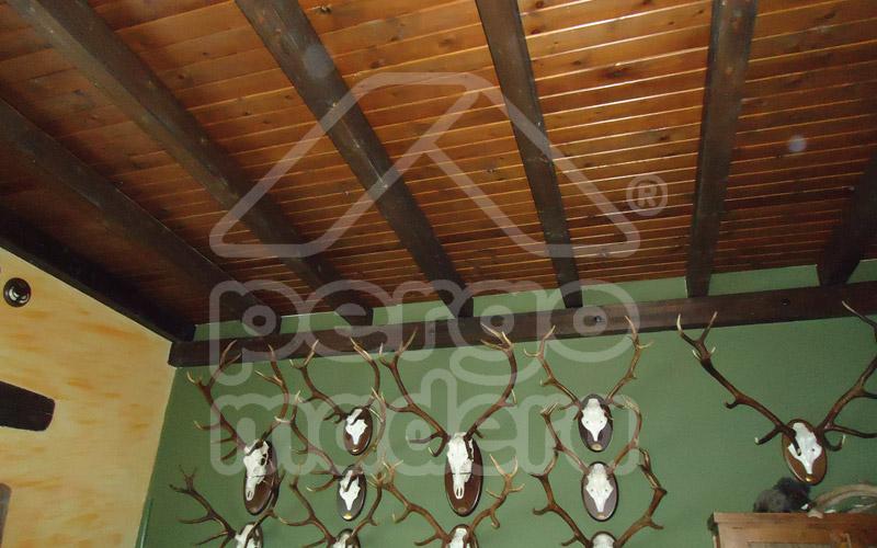 Cubiertas de madera techos de madera - Madera para techos interiores ...