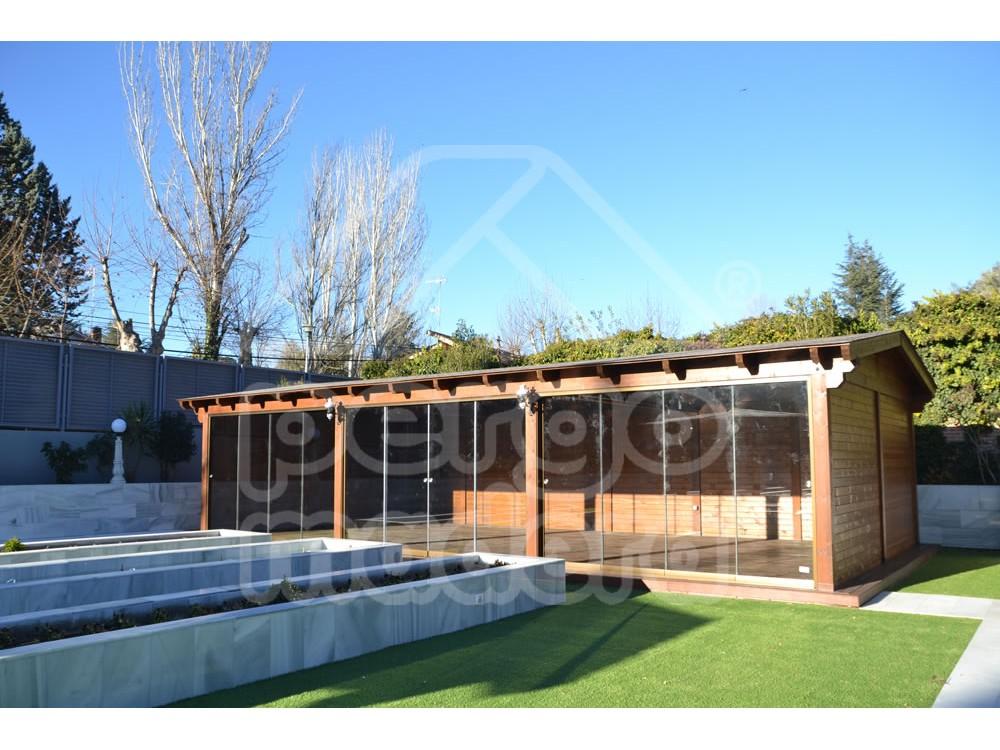 Cenadores de madera deck garden porches pergolas share - Pergolas de madera valencia ...