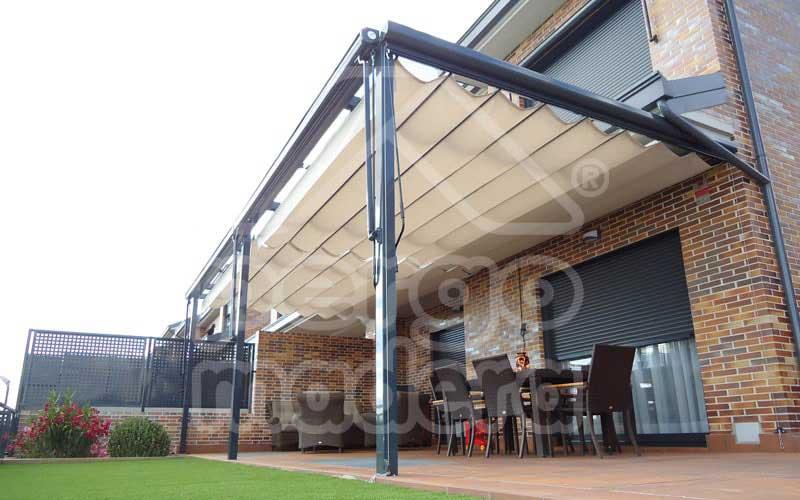 Pergolas aluminio prgola prgolas de aluminio las - Pergolas de aluminio para terrazas ...