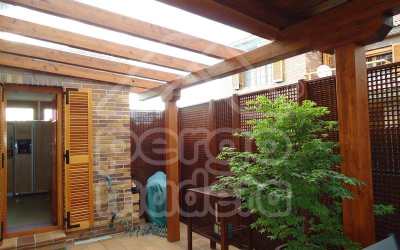 Pergolas de madera fotos pictures - Pergolas de madera fotos ...