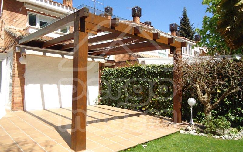 Pergolas madrid p rgolas madera aluminio bioclim ticas - Pergolas de madera valencia ...