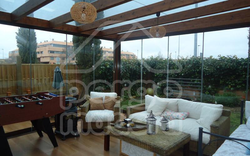 Pergolas de madera pergomadera - Pergolas y porches de madera ...