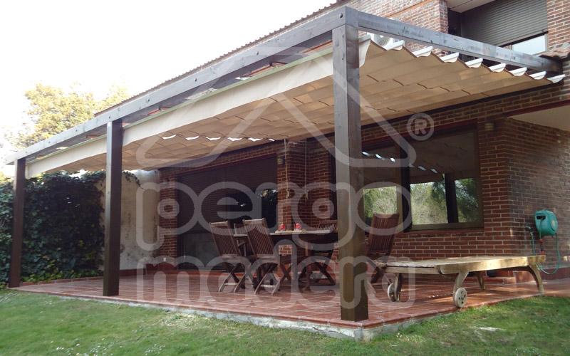 Pergola lamas orientables precio prgolas de aluminio de - Pergolas de aluminio precios ...