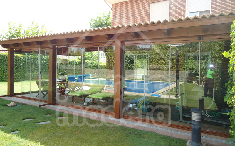 Pergolas y porches de madera innovation - Porches de madera en kit ...