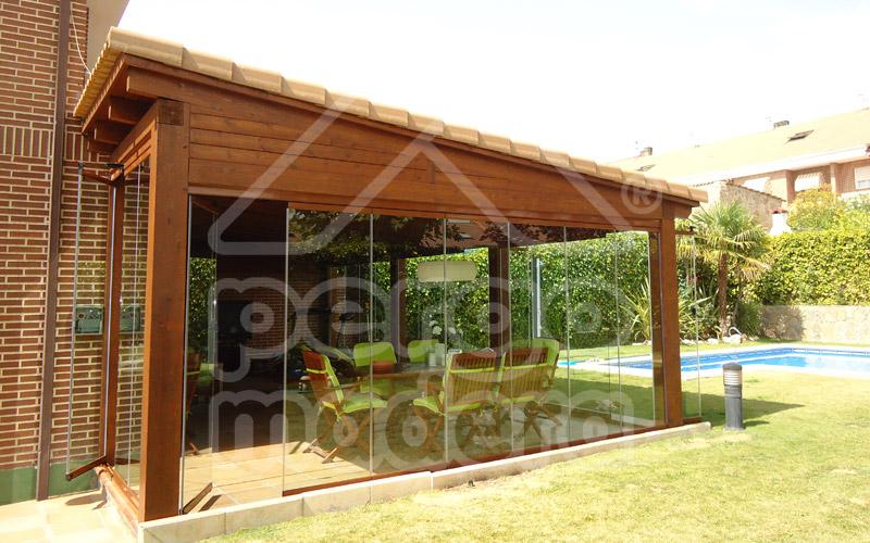 Cerramientos de porches acristalados madrid cerramiento - Porches para terrazas ...