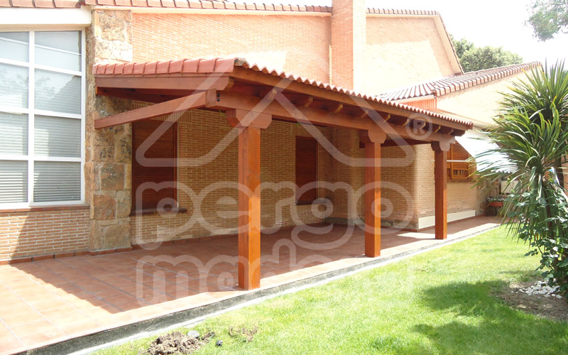 Pergolas y porches de madera innovation - Fotos de porches ...