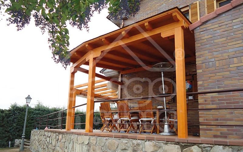 porches de madera clasicos