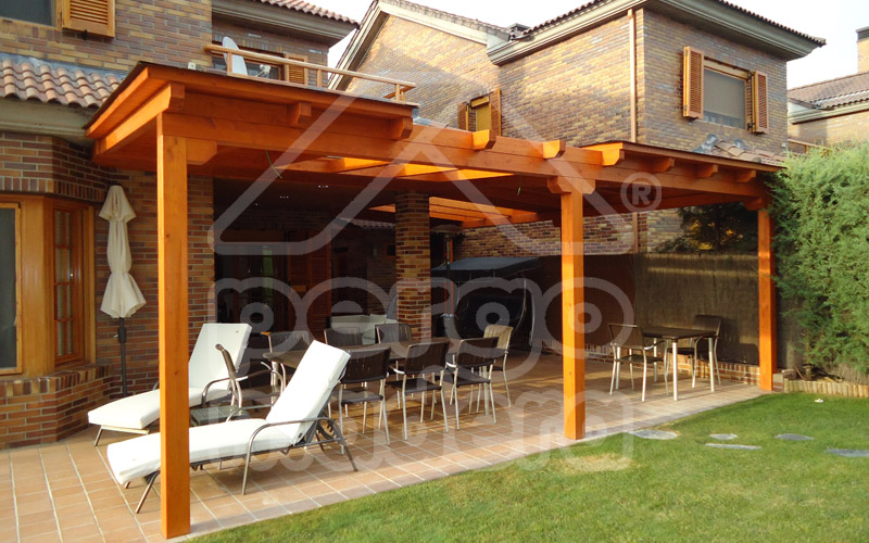 Porches de madera porches pergomadera - Fotos porches rusticos ...