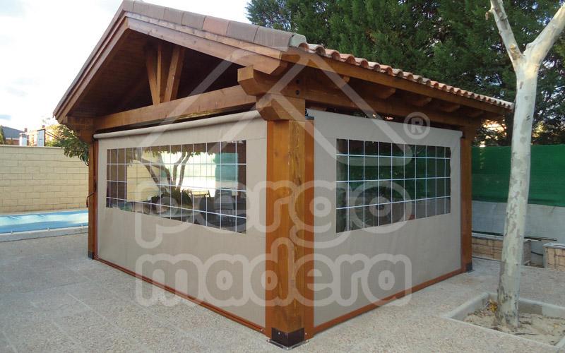 Toldos madrid estores carpas cortinas y toldos para - Toldos para pergolas de madera ...