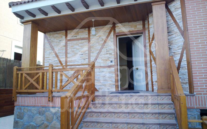 Barandillas madera exterior ideas de disenos - Barandilla madera exterior ...